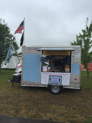 AR Flags, Mobile Unit Trailer on Display
